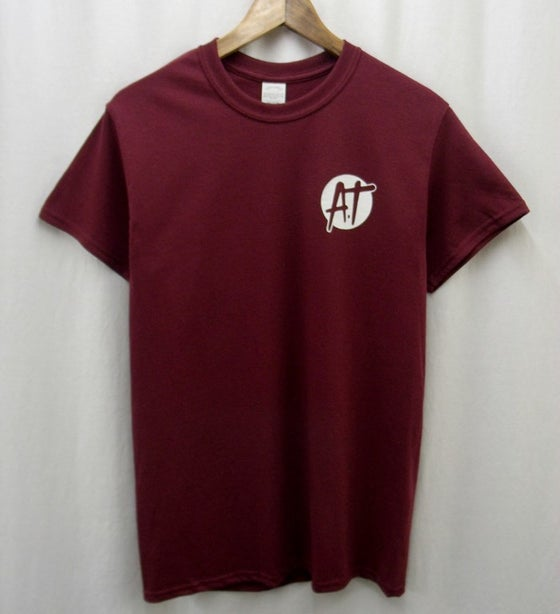 Image of Maroon AT logo t-shirt