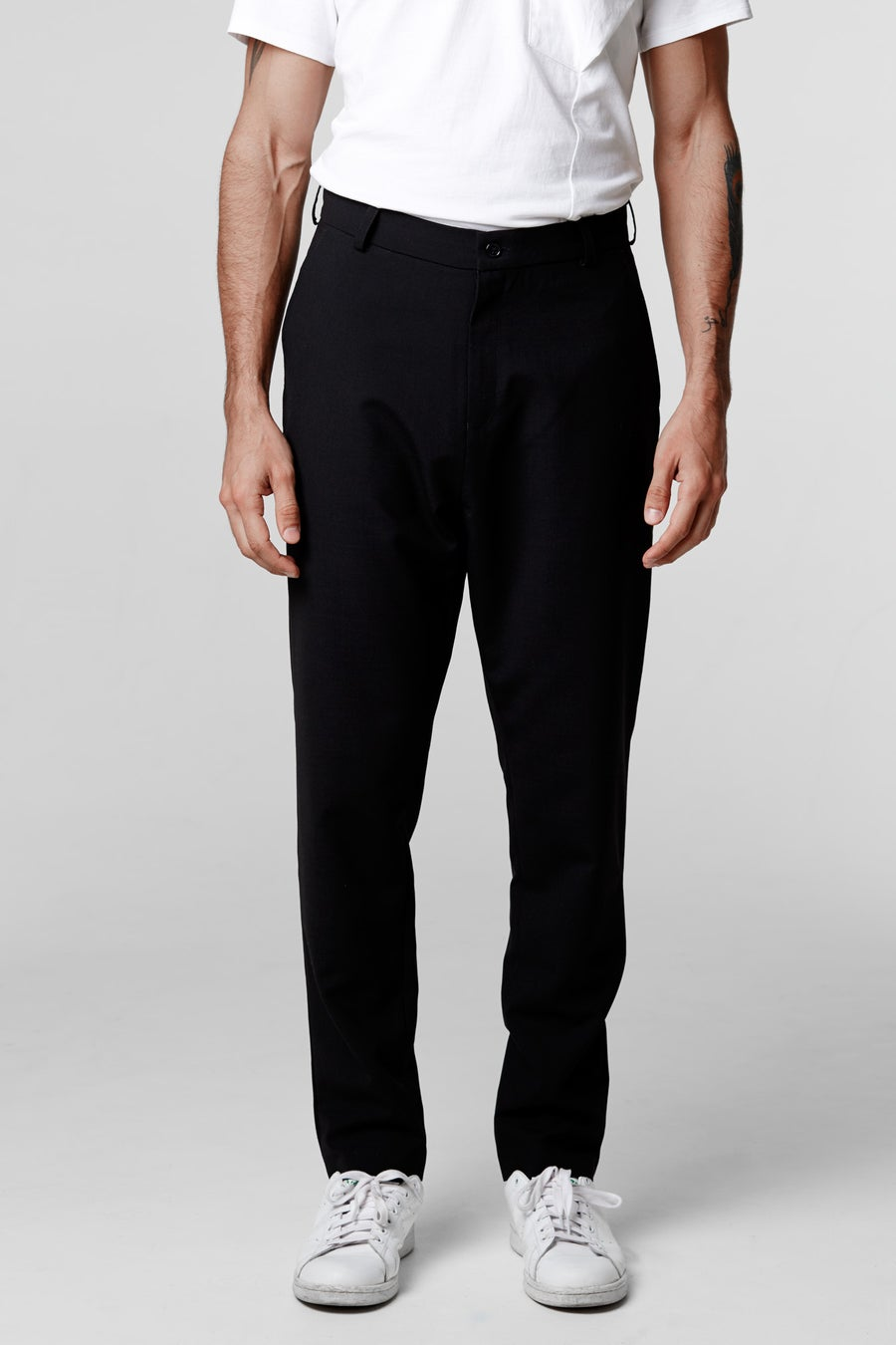 Image of Nico low crotch trousers wool