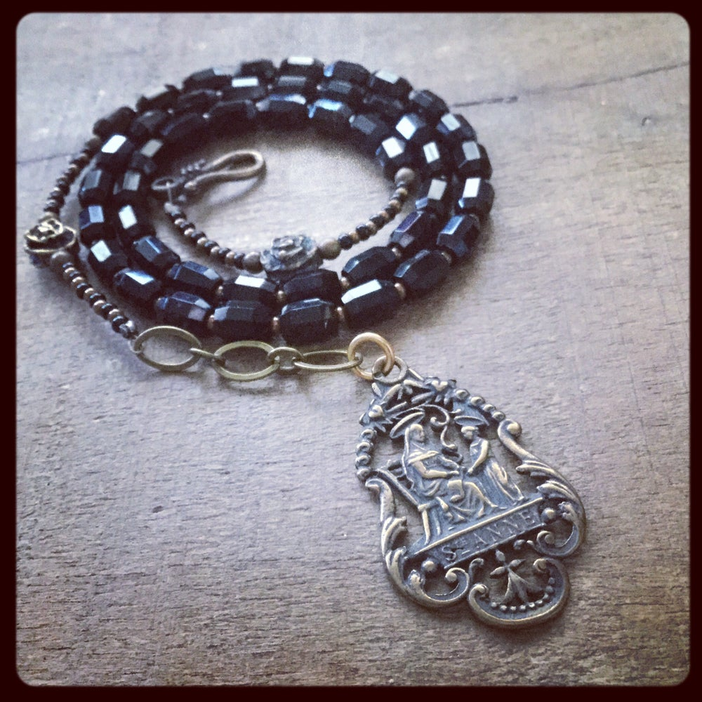 Image of ST. ANNE Beaded Necklace