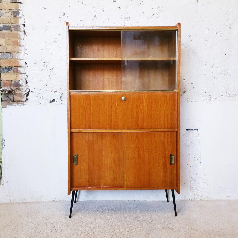 Image of Secrétaire vintage /pieds métallique
