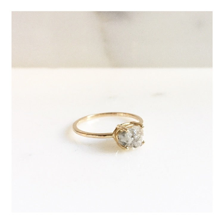 Image of RAW DIAMOND RING