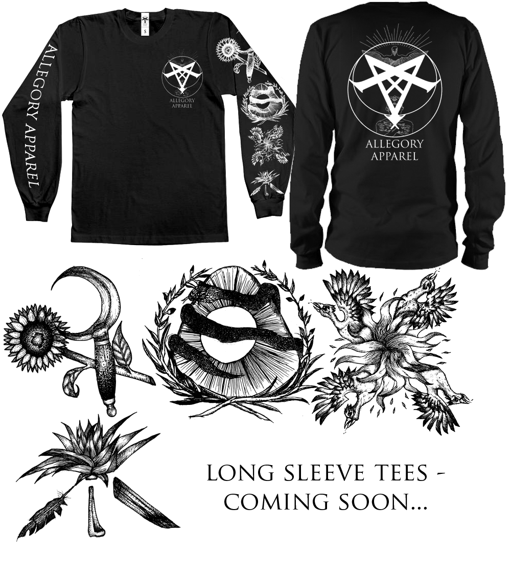 Image of The Omphalos Reverie long-sleeve tee - PREORDER