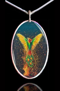 Image of Phoenix Rising Energy Pendant