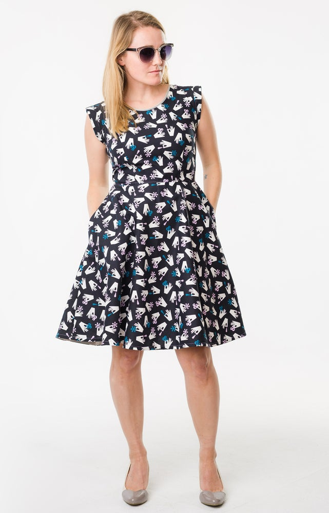 Image of Sally Dress: Typography