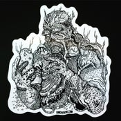 Image of SWAMPY THING Die Cut Sticker