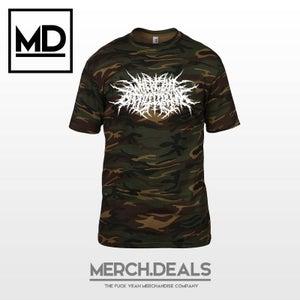Image of Camouflage Logo Shirt