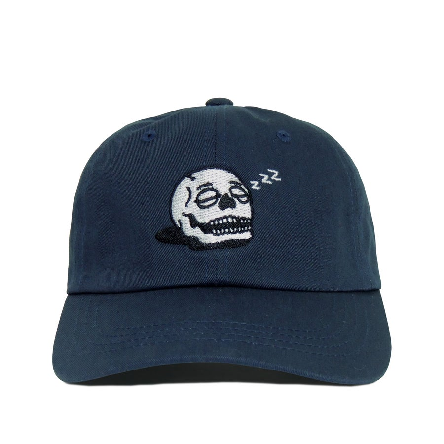 Image of Sleeping Skull Cap - Navy