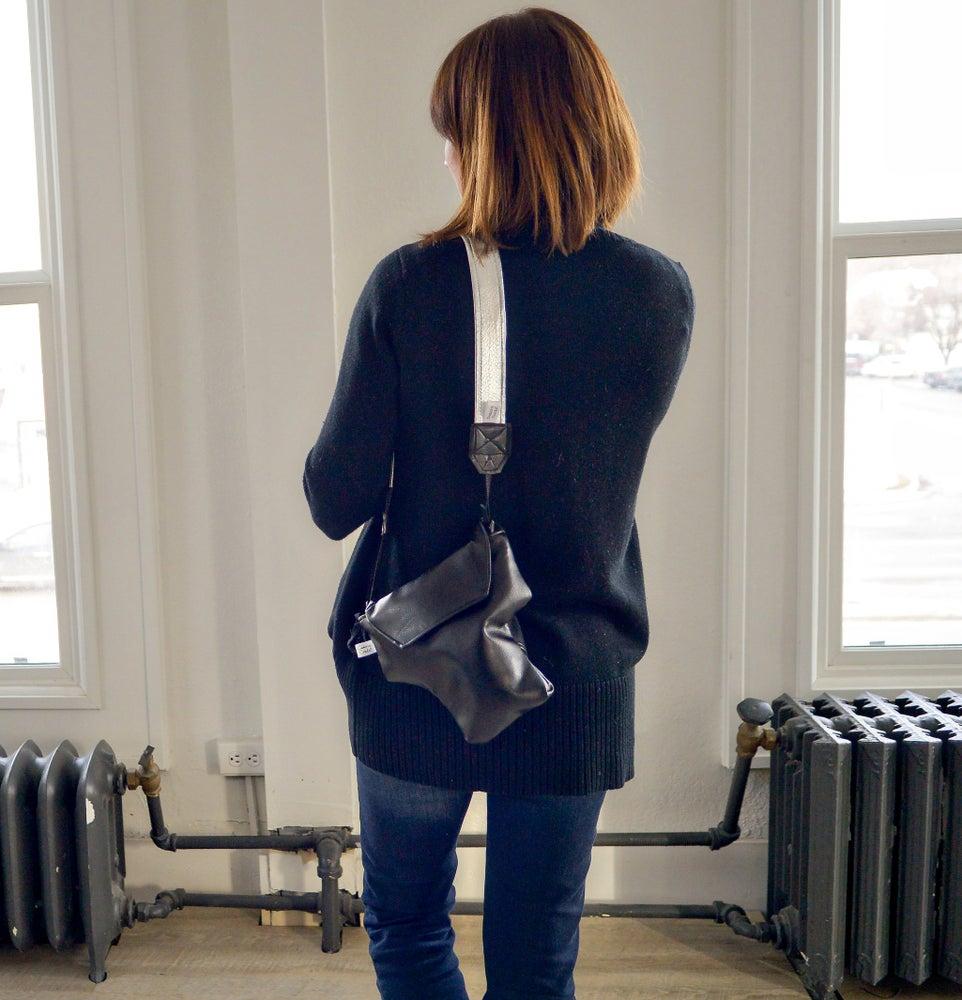 Image of Top Camera Bag 2017 For Travel   Black Leatherette Camera Coat Rain Slicky  