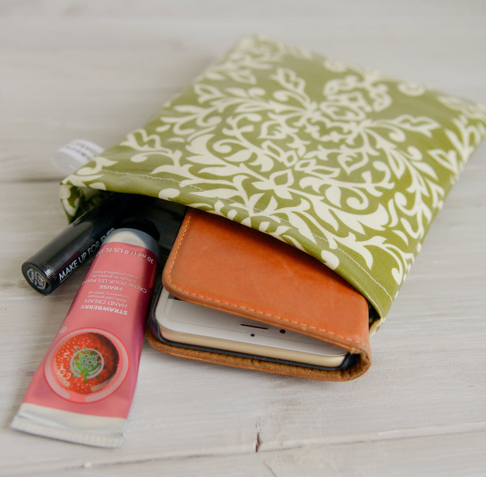 Image of Cute Travel Pouches For Women | Padded Velcro Closure | USA Handmade
