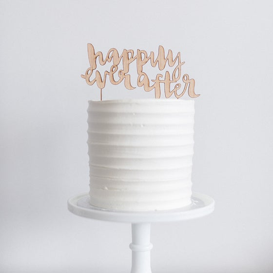 Image of Happily Ever After - Cake Topper