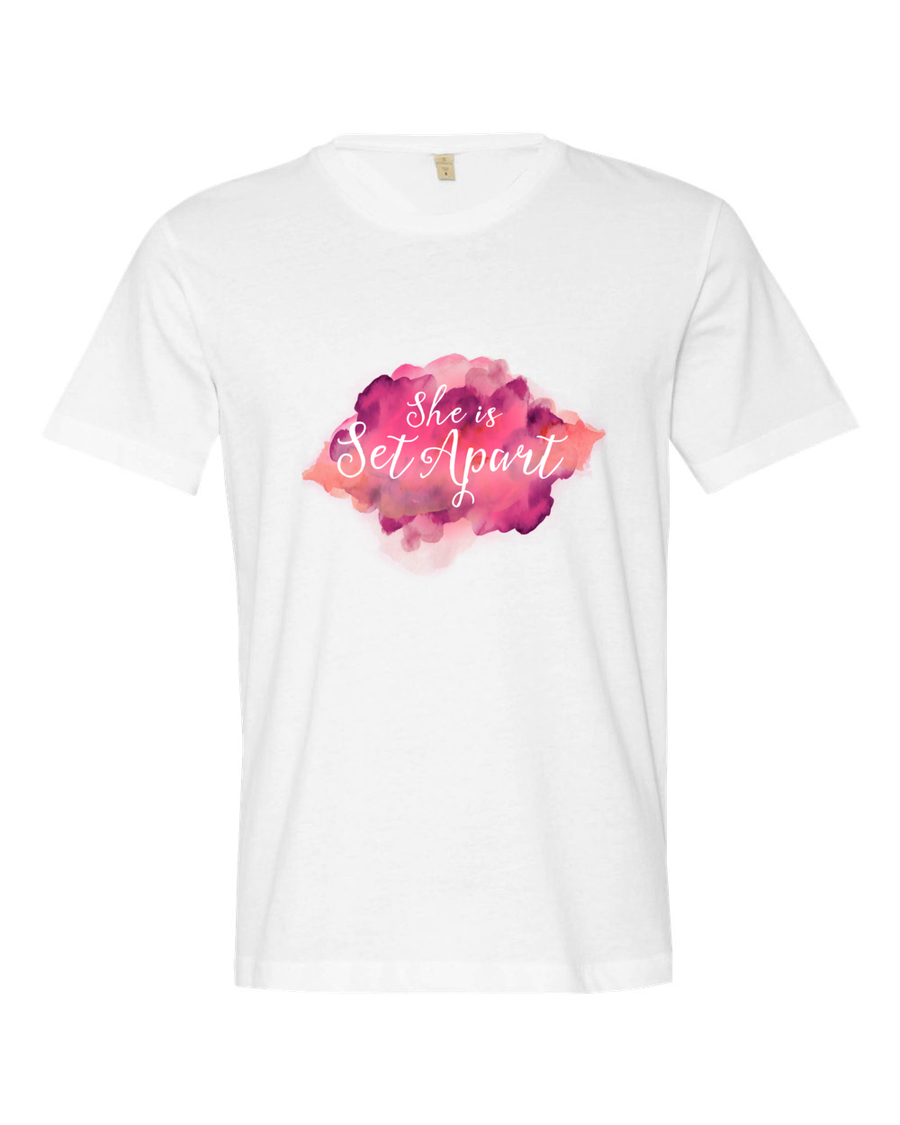Image of She is Set Apart Color Burst T-shirt