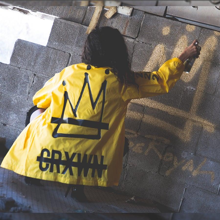 Image of Be Royal Crxwn Crew Jacket