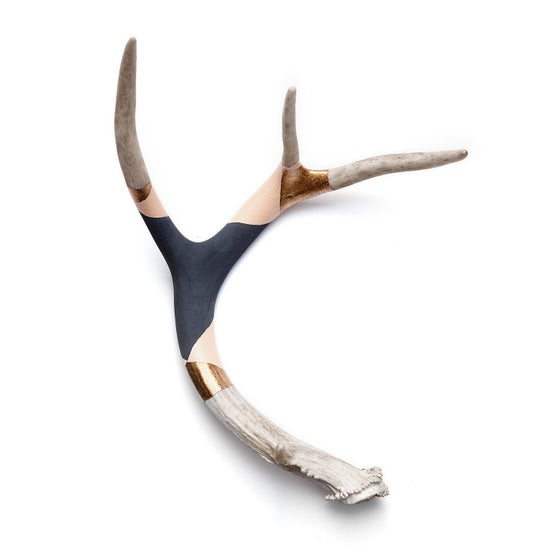 Image of BANDED ANTLER // BLUSH GOLD