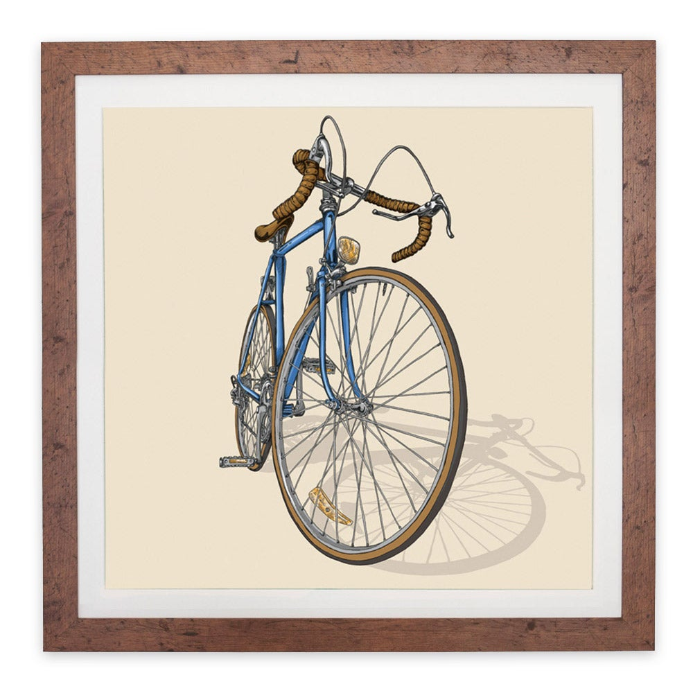 Image of 'Road bike' giclée print by Studio Epitaph