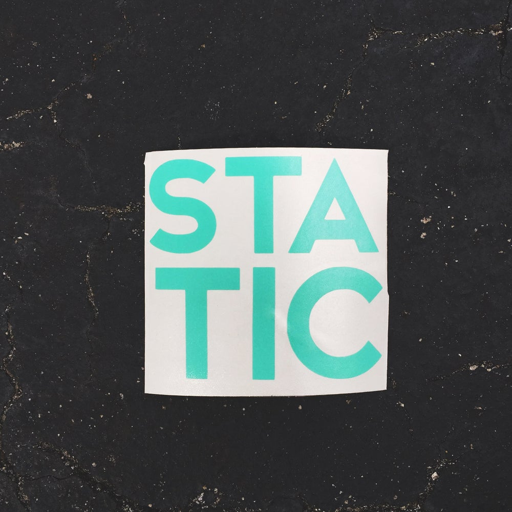 """Image of NEW RELEASE """"STATIC"""" Mint."""