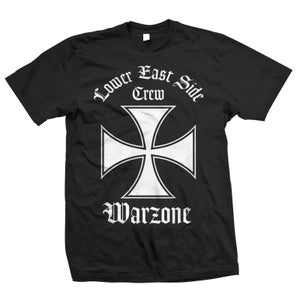 """Image of WARZONE """"Lower East Side Crew"""" T-Shirt"""