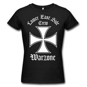 """Image of WARZONE """"Lower East Side Crew"""" Girlie Shirt"""