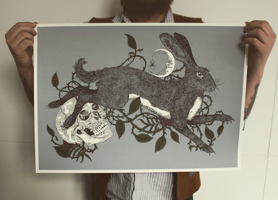 Image of Brambles, Rowan and The Hare (variant)