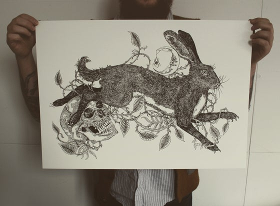 Image of Brambles, Rowan and The Hare.