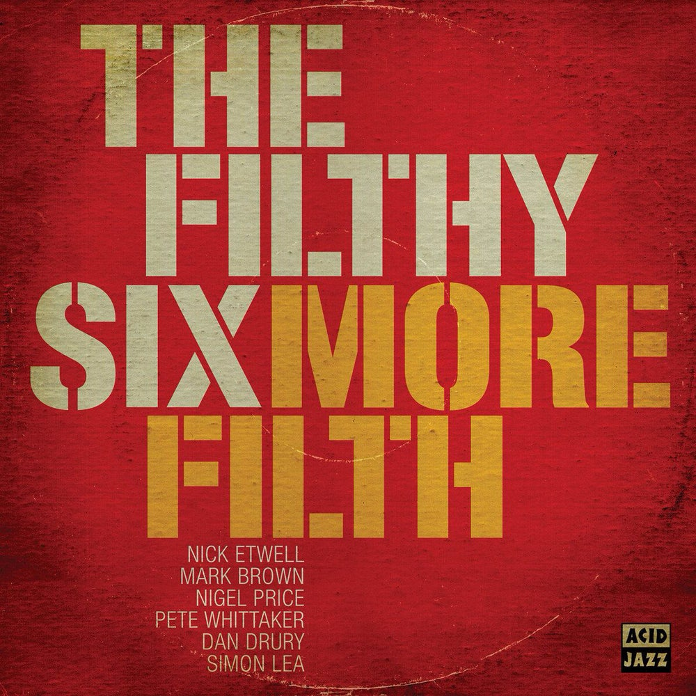 Image of The Filthy Six - More Filth CD and LP
