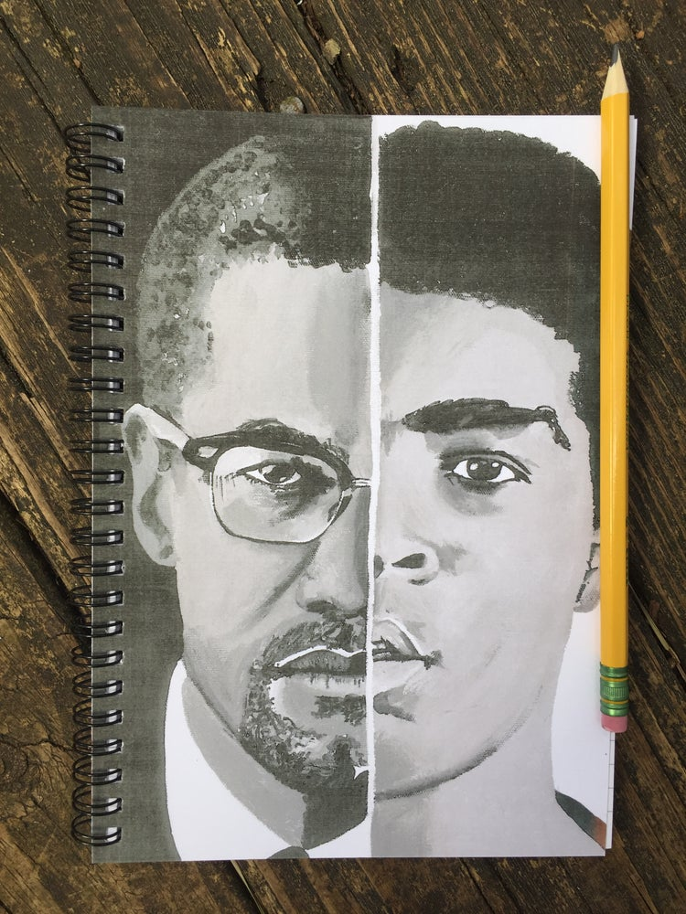 Image of Malcolm/Ali (Notebook)