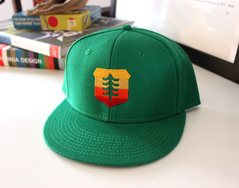 Image of Brave Shield Baseball Hat - Sunrise Edition