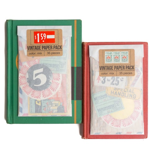 Image of Vintage Paper Pack - Color