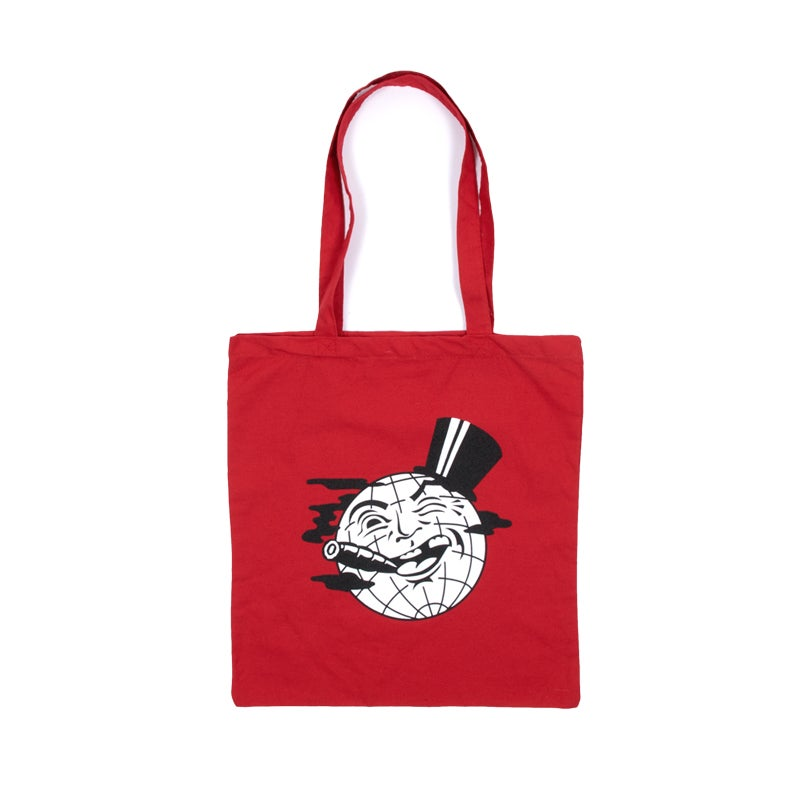 Image of Milkman Tote Bag (Red)