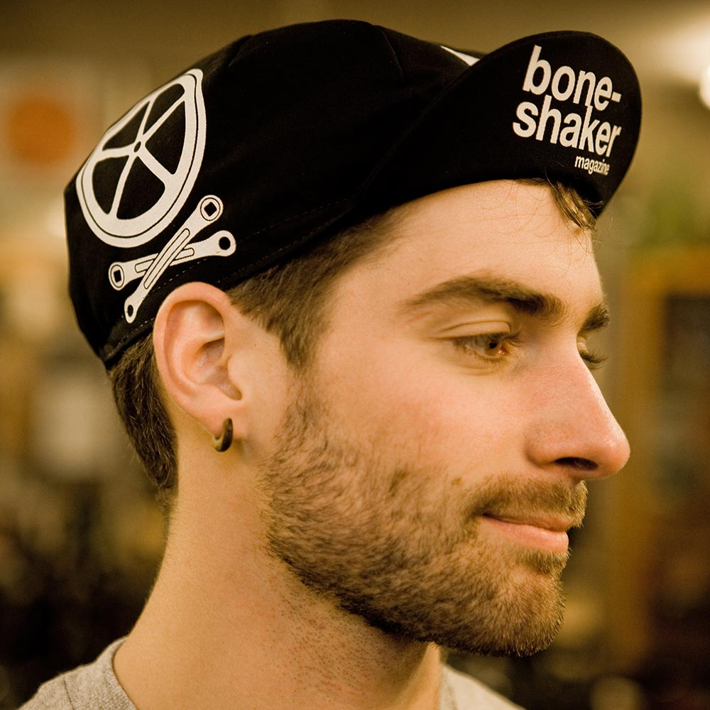 Image of Boneshaker cycling cap
