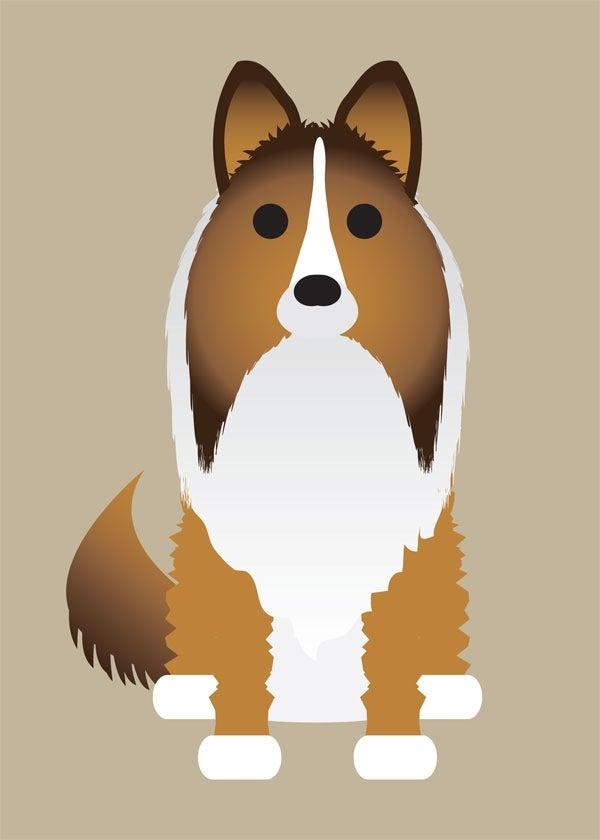 "Image of ""S"" Dog Collection: ShetlI, Shiba Inu, Springer Spaniel"