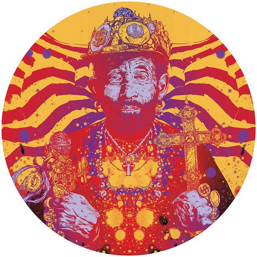 "Image of Lee 'Scratch' Perry 12"" Slipmats"