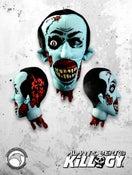 Image of Plush One Eye Tessio Zombie Head w/BONUS Killogy pint glass!- PRE-ORDER