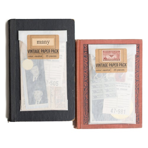 Image of Vintage Paper Pack - Neutral