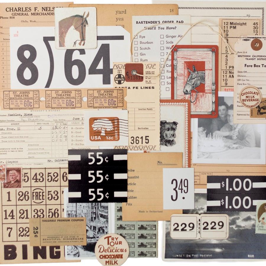 Image of Vintage Paper Pack - Neutral