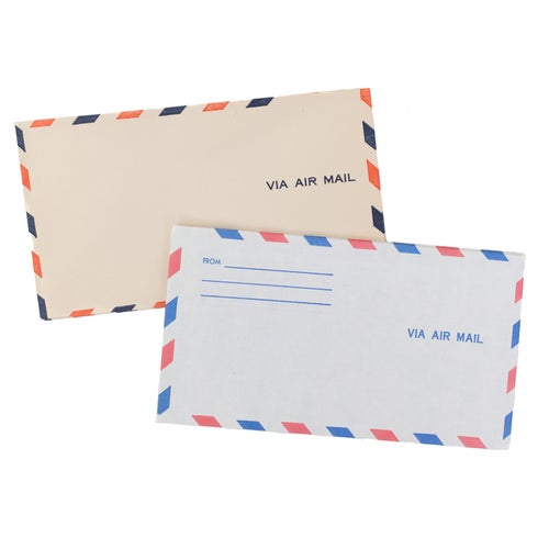 Image of 10 Different Airmail Envelopes