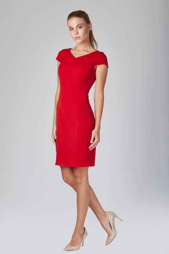 Image of Henson Dress - Red