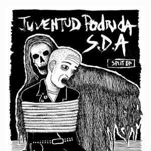 "Image of JUVENTUD PODRIDA / SISTEMAS DE ANIQUILACION - SPLIT 7"""