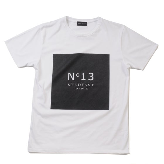 Image of №13 white T-Shirt