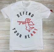 Image of DEFEND WHITE TEE