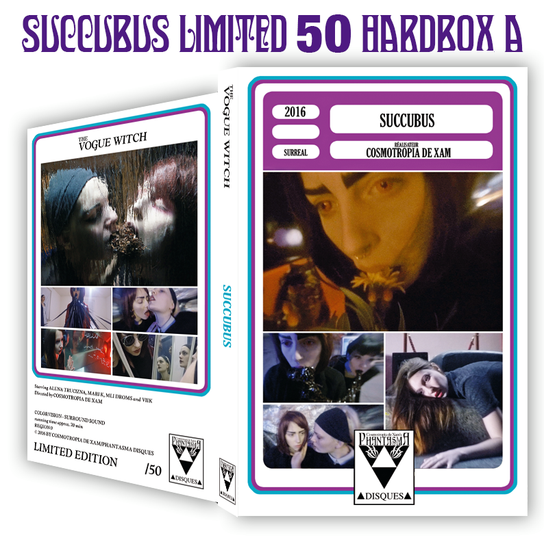 Image of SUCCUBUS - DVD HARDBOX (DESIGN A)