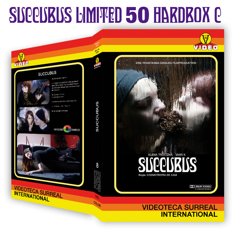 Image of SUCCUBUS - DVD HARDBOX (DESIGN C)