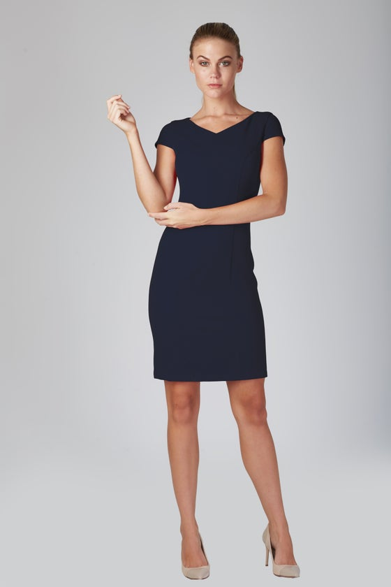 Image of Henson Dress - Navy