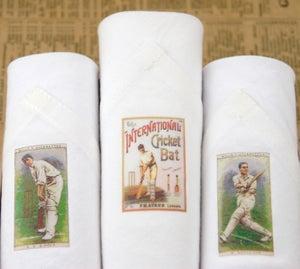 Image of Box of III Men's Handkerchiefs: Cricket
