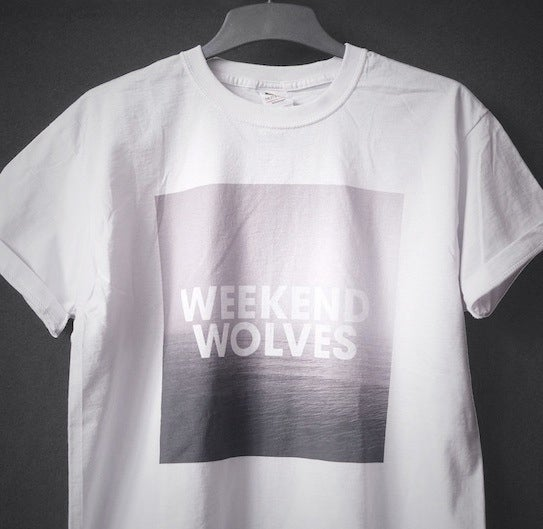 "Image of ""WEEKEND WOLVES"" WHITE T-SHIRT"