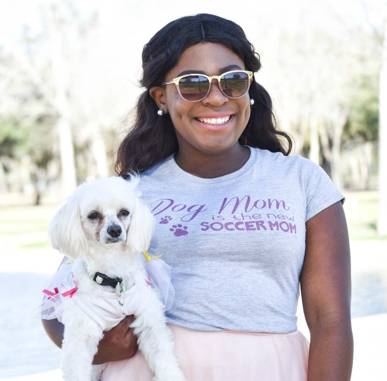 Image of Dog Mom T-Shirt