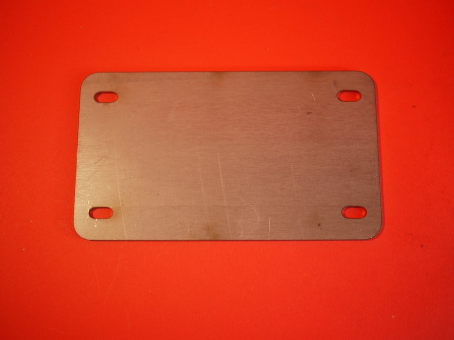 Image of License Plate Mount