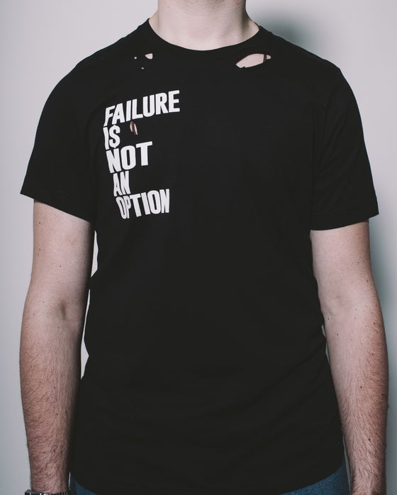 Image of Failure Black Tee
