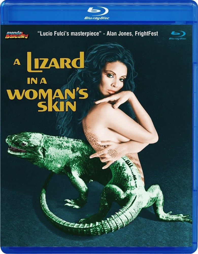 Image of LIZARD IN A WOMAN'S SKIN