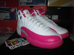 """Air Jordan XII (12) Retro """"Vivid Pink"""" GS - areaGS - KIDS SIZE ONLY"""