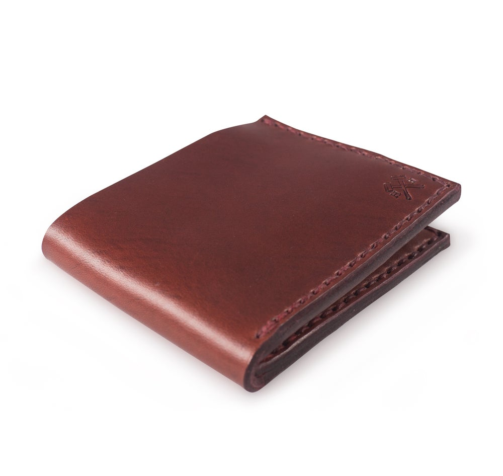 Image of Dad Wallet Ox Blood